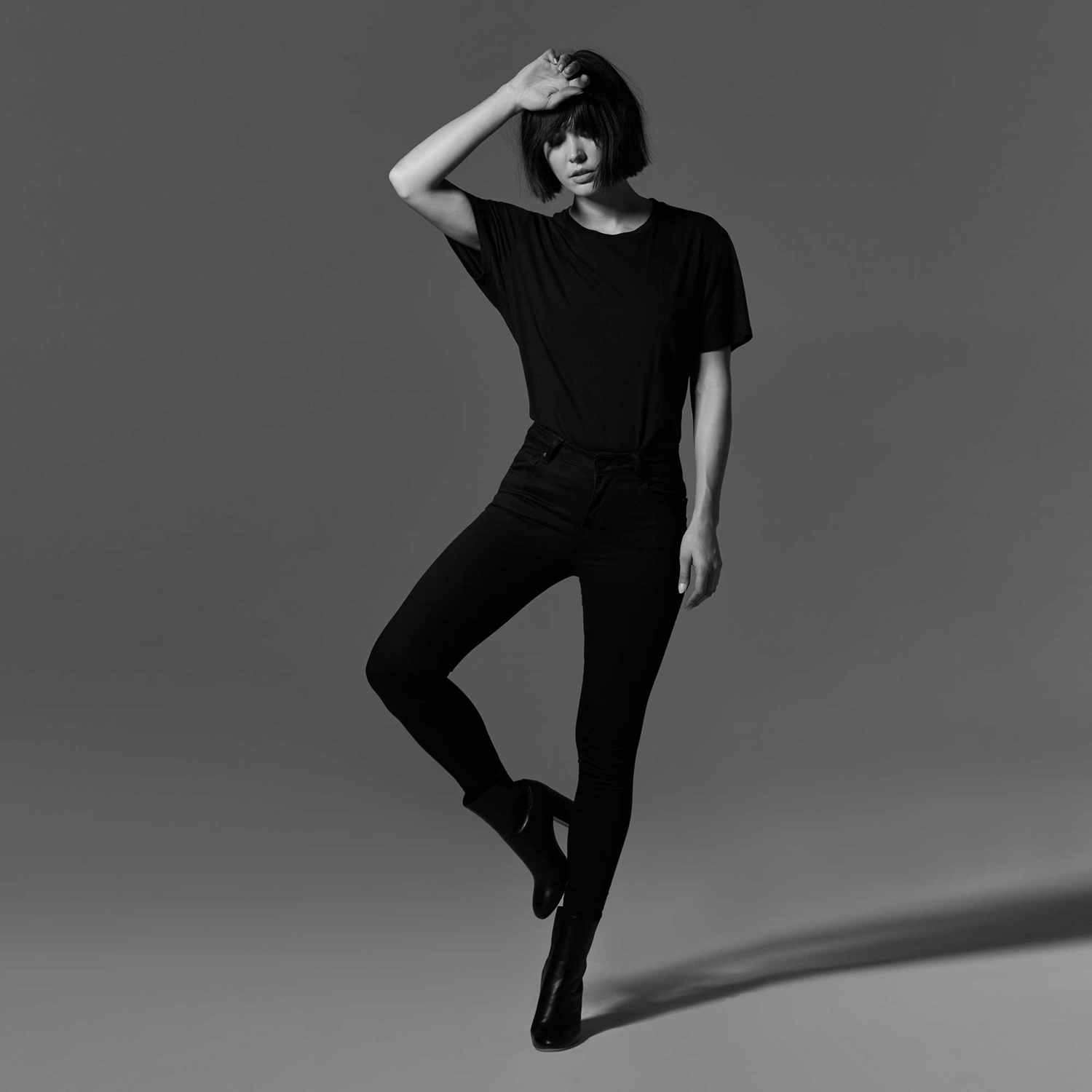 f8d1490d0892 Womens High Rise Skinny Jeans In Black $85 | DSTLD
