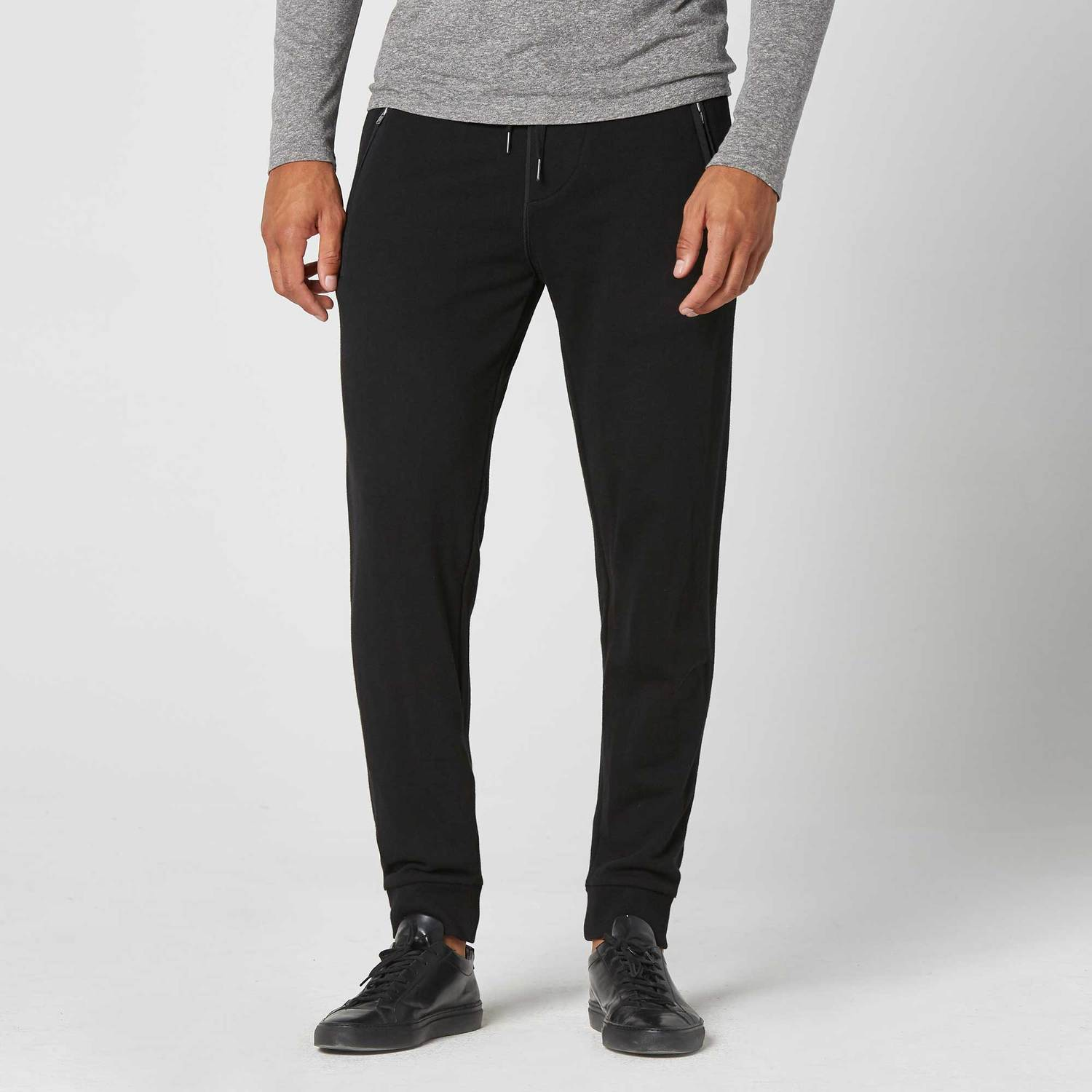 Mens Jogger Pants In Black by Dstld