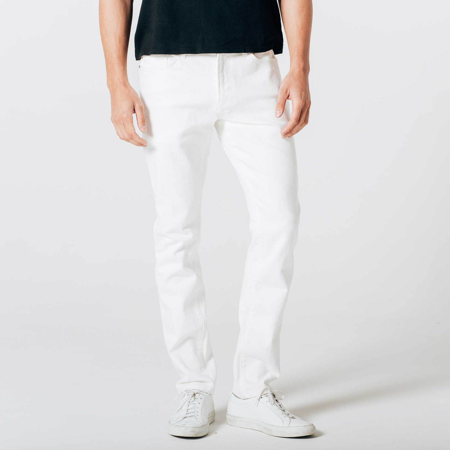 c23a009602 Mens Skinny Slim Jeans In White $85 | DSTLD