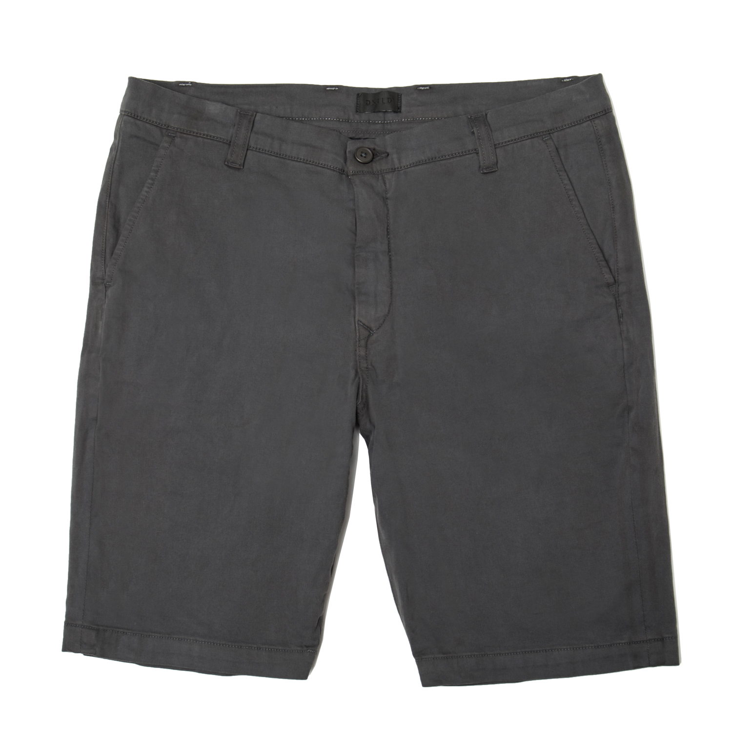 Mens Slim Chino Shorts In Charcoal $65 | DSTLD