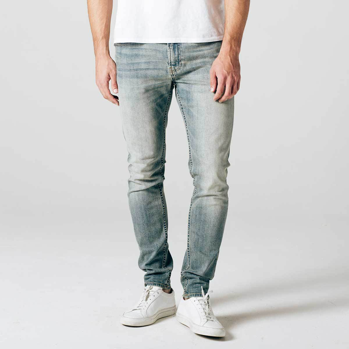 how to make light wash jeans